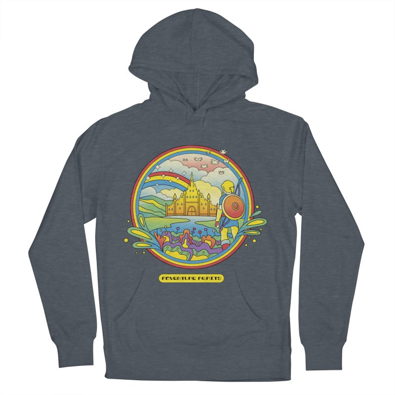 Trippy Adventurer Men's French Terry Pullover Hoody by vincenttrinidad's Artist Shop