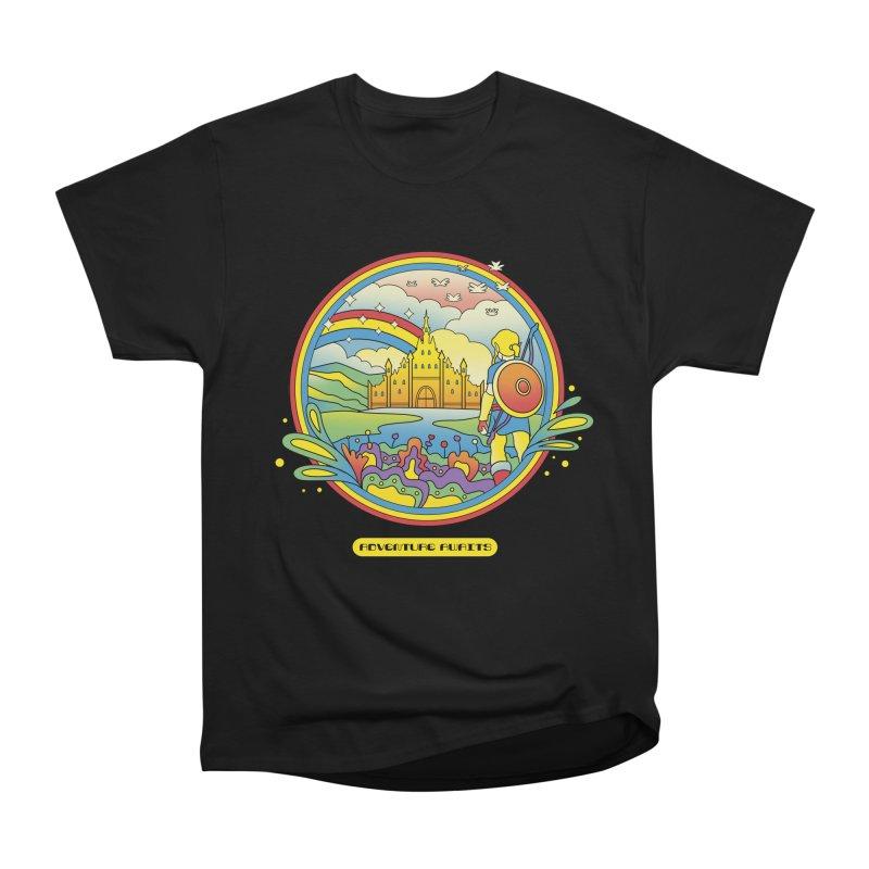 Trippy Adventurer Men's Heavyweight T-Shirt by vincenttrinidad's Artist Shop