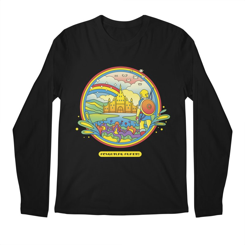 Trippy Adventurer Men's Regular Longsleeve T-Shirt by vincenttrinidad's Artist Shop