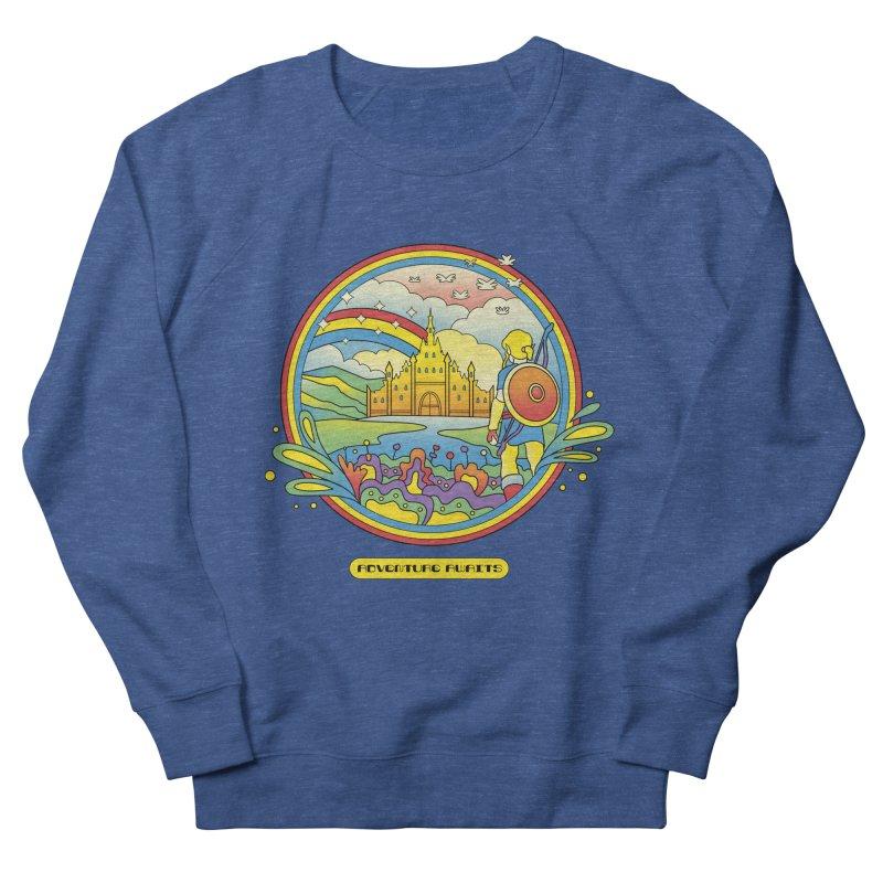 Trippy Adventurer Women's French Terry Sweatshirt by vincenttrinidad's Artist Shop