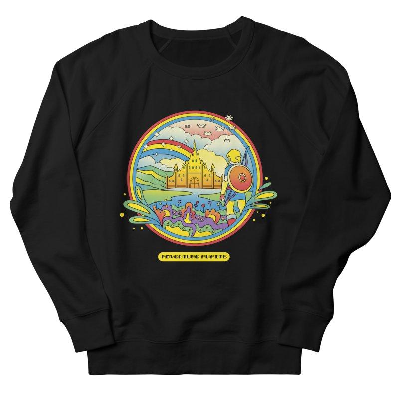 Trippy Adventurer Men's French Terry Sweatshirt by vincenttrinidad's Artist Shop