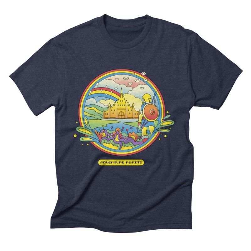 Trippy Adventurer Men's Triblend T-Shirt by vincenttrinidad's Artist Shop