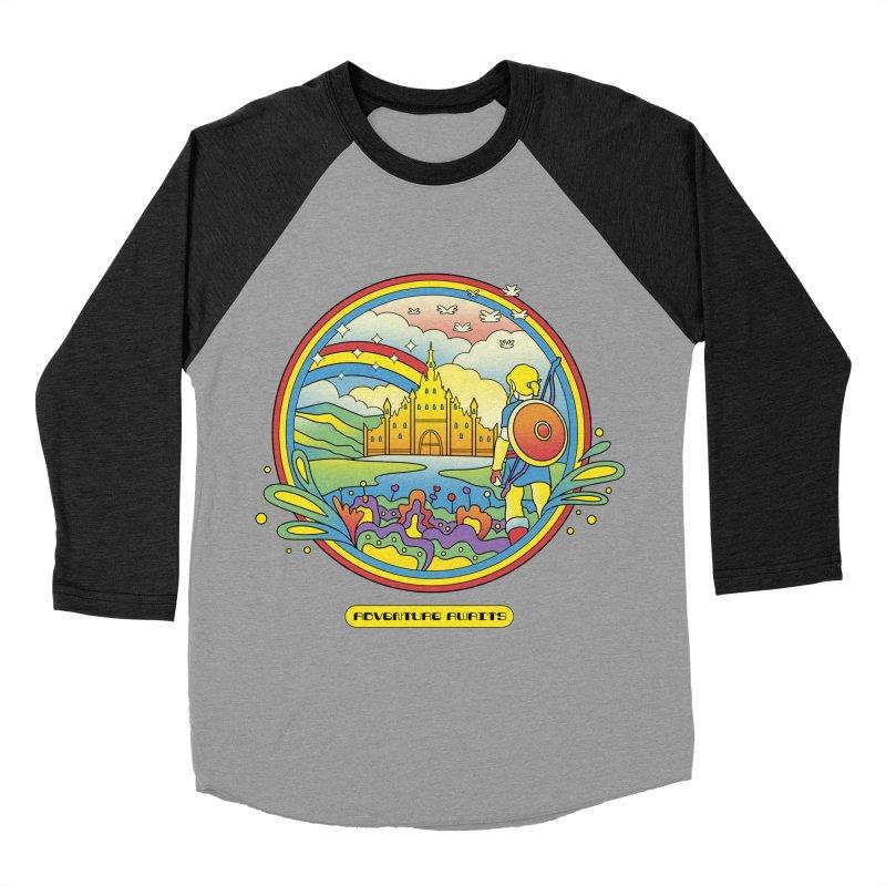 Trippy Adventurer Women's Baseball Triblend Longsleeve T-Shirt by vincenttrinidad's Artist Shop