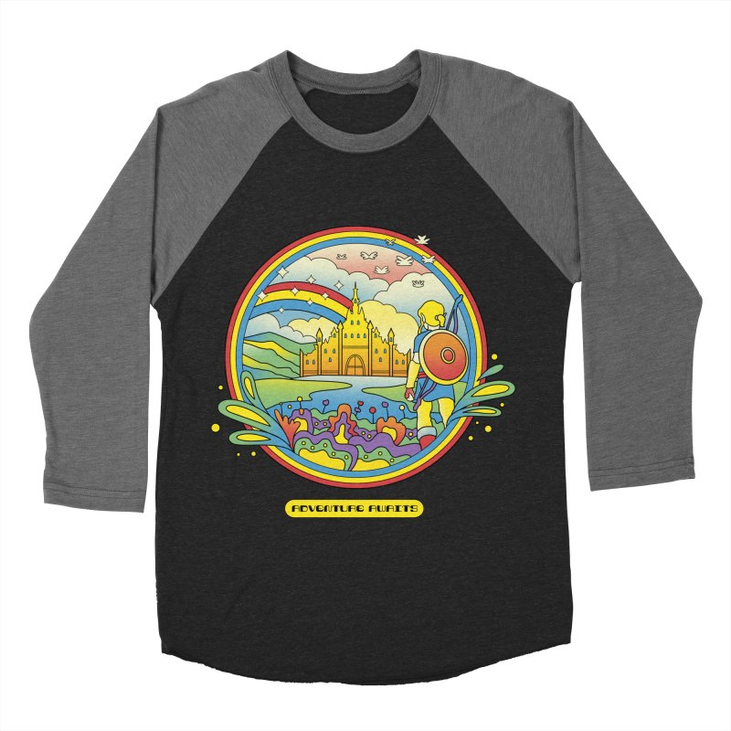Trippy Adventurer Men's Baseball Triblend Longsleeve T-Shirt by vincenttrinidad's Artist Shop