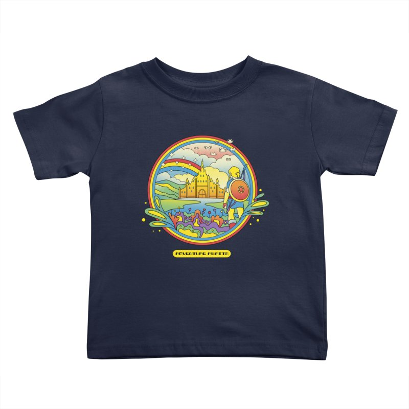 Trippy Adventurer Kids Toddler T-Shirt by vincenttrinidad's Artist Shop