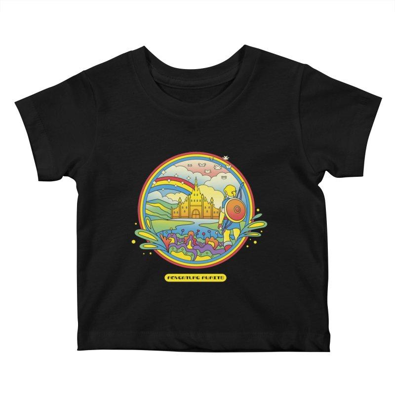 Trippy Adventurer Kids Baby T-Shirt by vincenttrinidad's Artist Shop