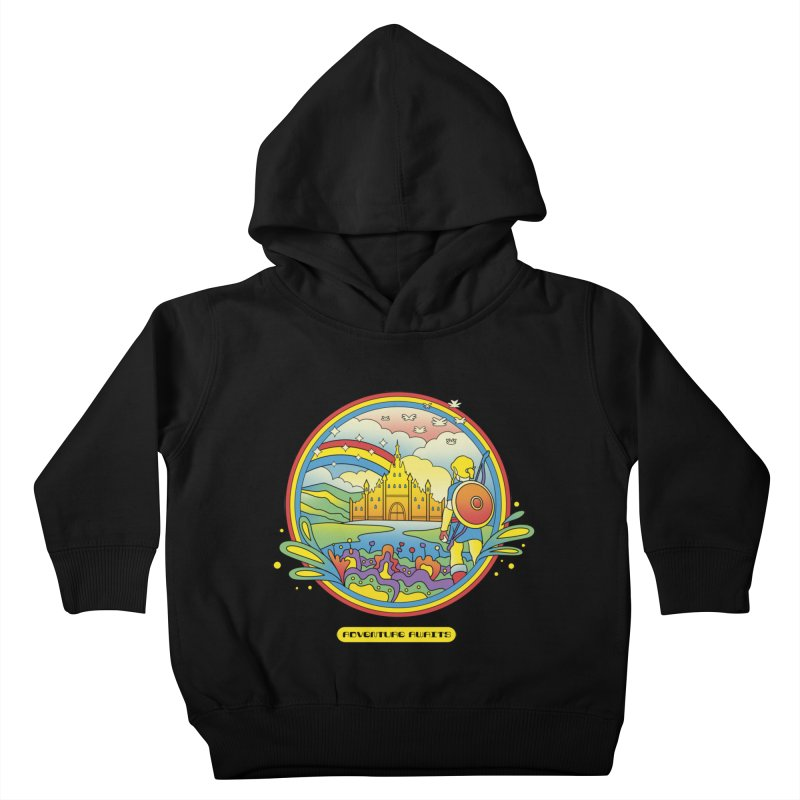 Trippy Adventurer Kids Toddler Pullover Hoody by vincenttrinidad's Artist Shop