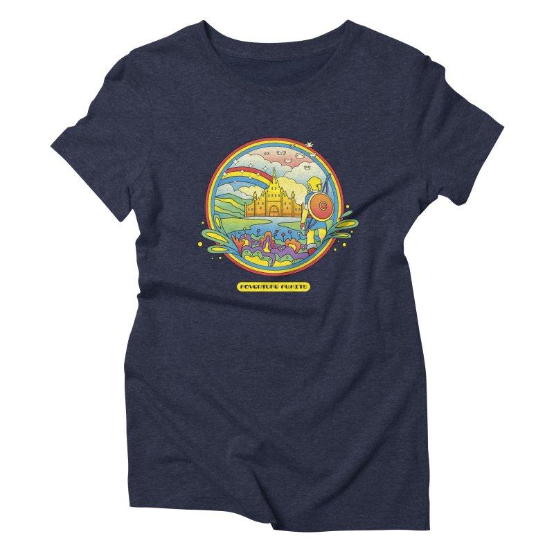 Trippy Adventurer Women's Triblend T-Shirt by vincenttrinidad's Artist Shop