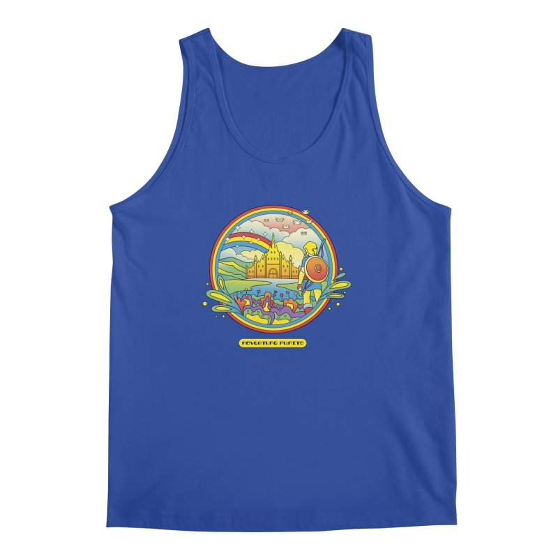 Trippy Adventurer Men's Regular Tank by vincenttrinidad's Artist Shop