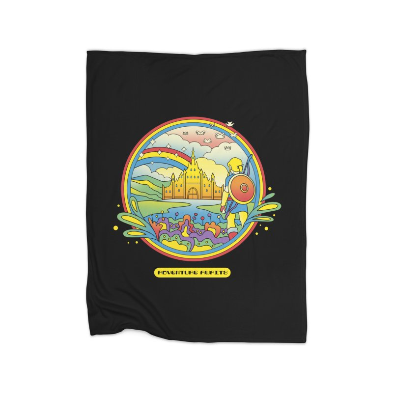 Trippy Adventurer Home Blanket by vincenttrinidad's Artist Shop