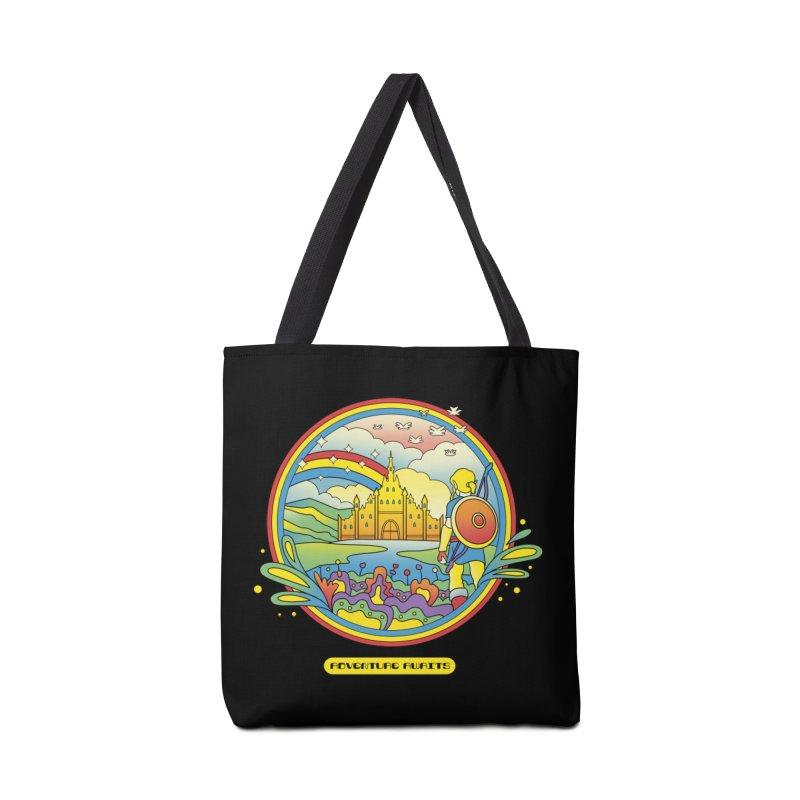 Trippy Adventurer Accessories Bag by vincenttrinidad's Artist Shop