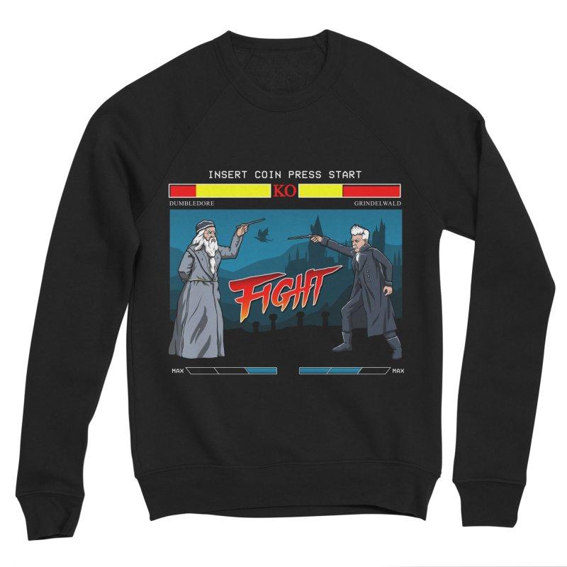 Arcade Wizard Fight Men's Sponge Fleece Sweatshirt by vincenttrinidad's Artist Shop