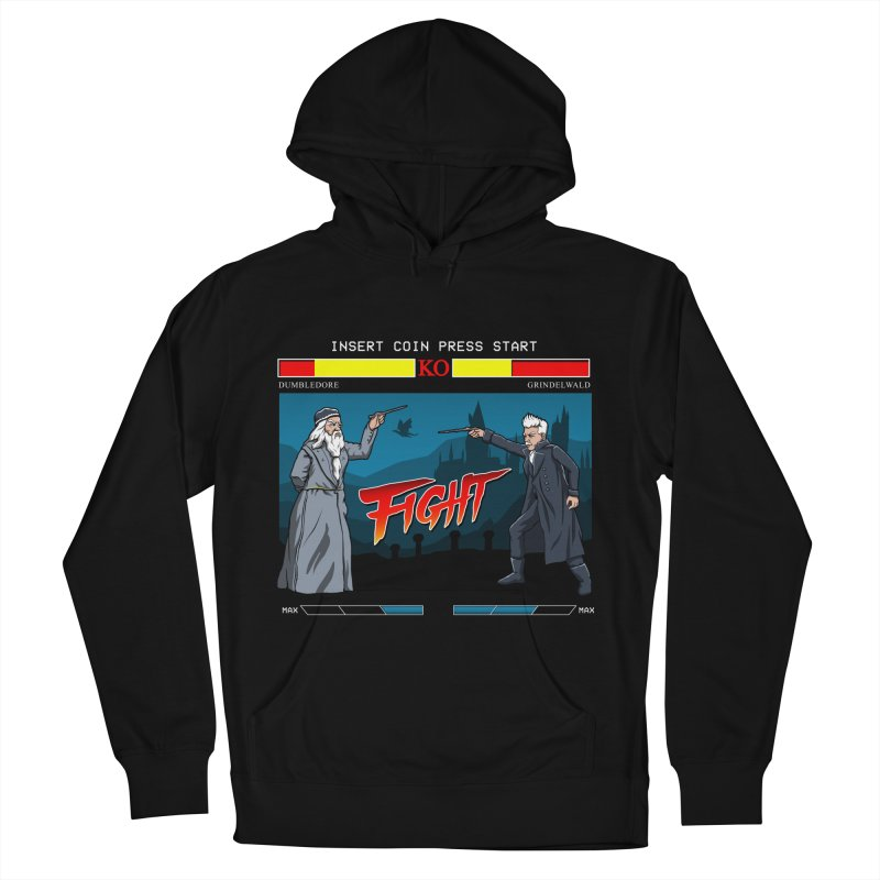 Arcade Wizard Fight Women's French Terry Pullover Hoody by vincenttrinidad's Artist Shop