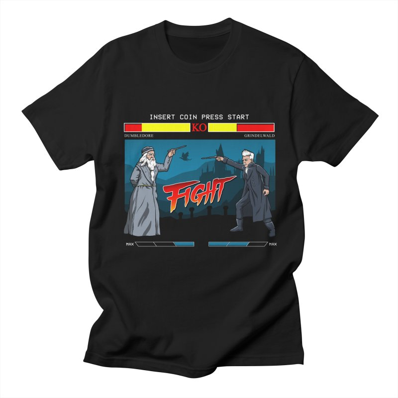 Arcade Wizard Fight Women's Regular Unisex T-Shirt by vincenttrinidad's Artist Shop