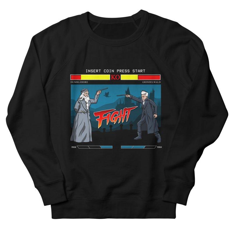 Arcade Wizard Fight Women's French Terry Sweatshirt by vincenttrinidad's Artist Shop