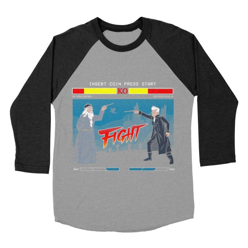 Arcade Wizard Fight Women's Baseball Triblend Longsleeve T-Shirt by vincenttrinidad's Artist Shop