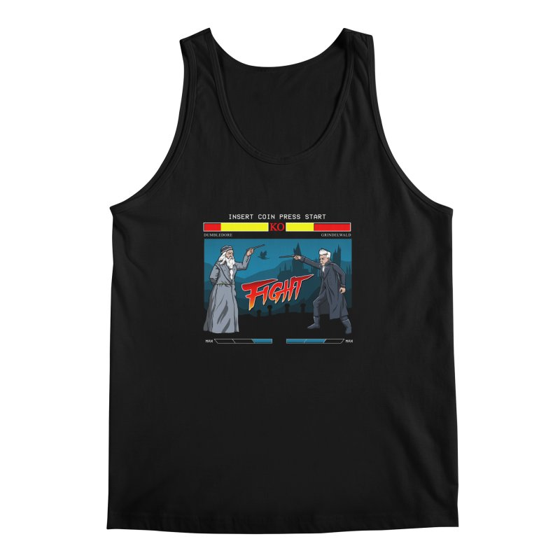 Arcade Wizard Fight Men's Regular Tank by vincenttrinidad's Artist Shop