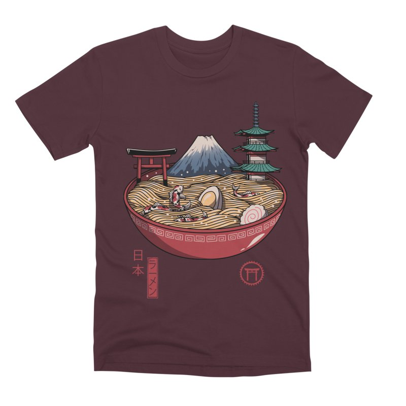 A Japanese Ramen Men's Premium T-Shirt by vincenttrinidad's Artist Shop