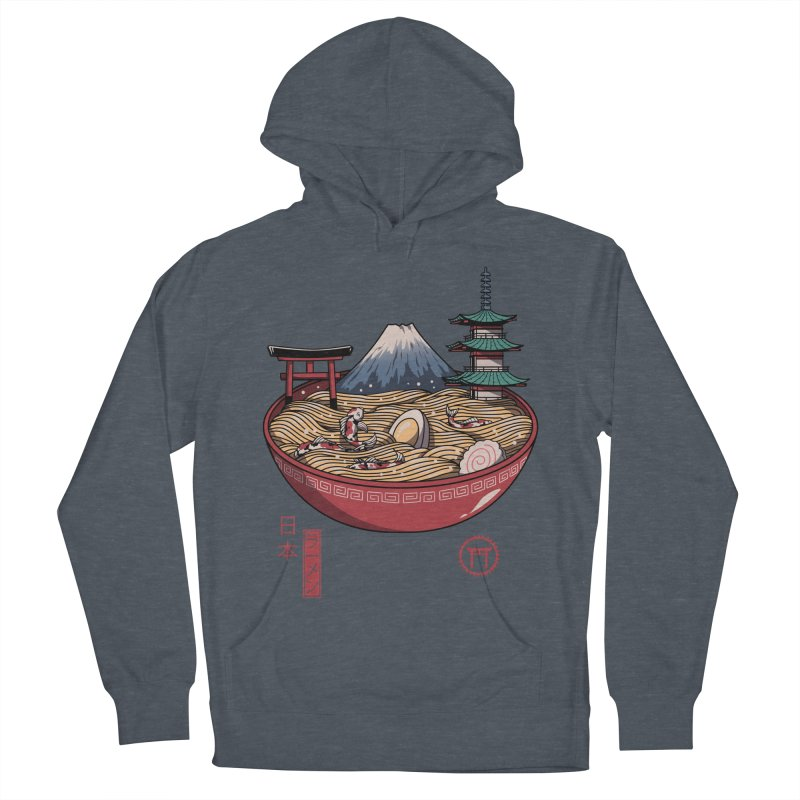 A Japanese Ramen Women's French Terry Pullover Hoody by vincenttrinidad's Artist Shop