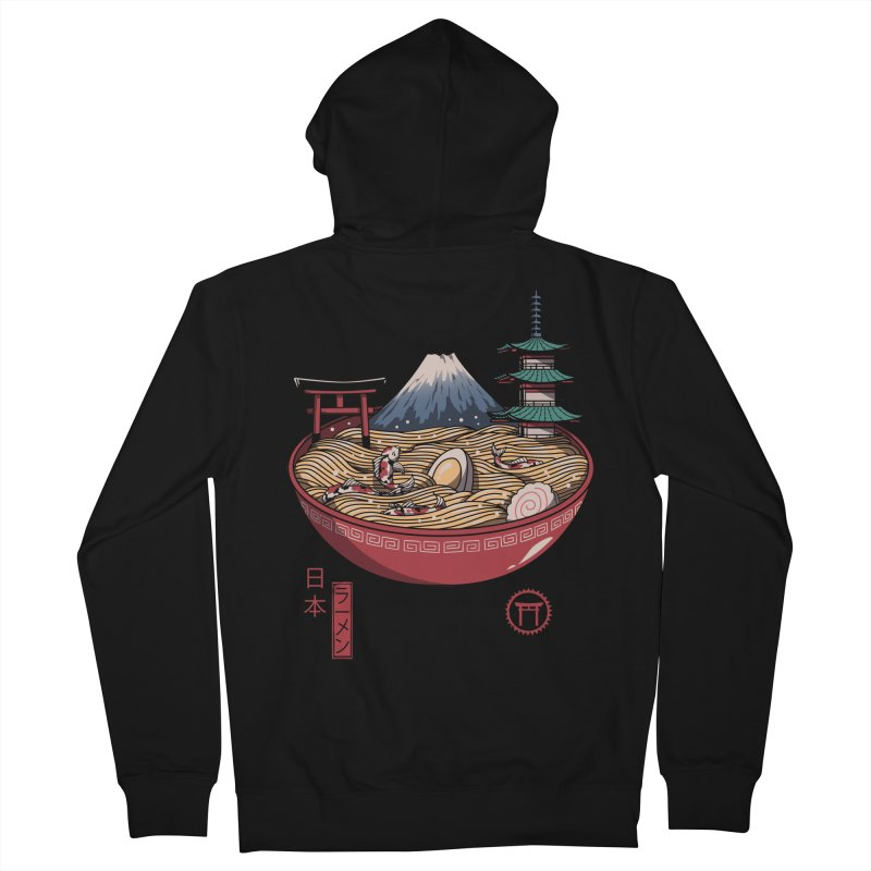 A Japanese Ramen Men's French Terry Zip-Up Hoody by vincenttrinidad's Artist Shop
