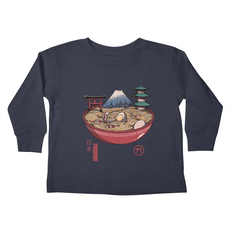 A Japanese Ramen Kids Toddler Longsleeve T-Shirt by vincenttrinidad's Artist Shop
