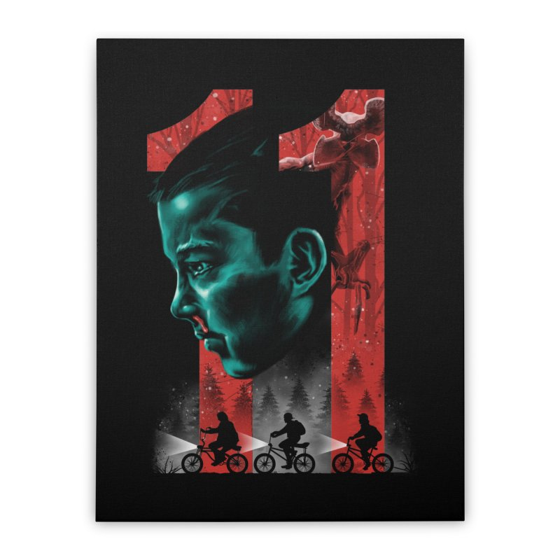 Eleven Home Stretched Canvas by vincenttrinidad's Artist Shop