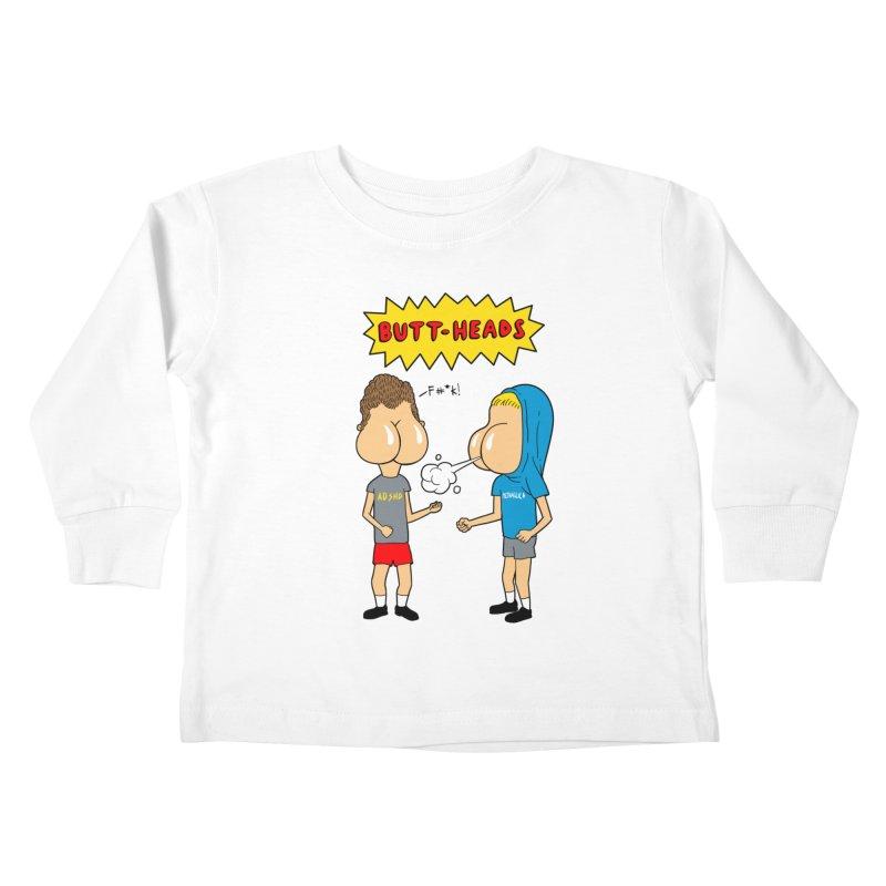 Buttheads Kids Toddler Longsleeve T-Shirt by vincenttrinidad's Artist Shop