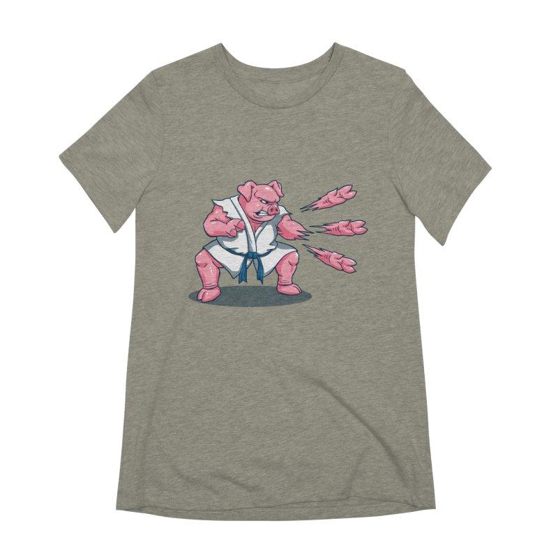 Pork Chops Women's Extra Soft T-Shirt by vincenttrinidad's Artist Shop
