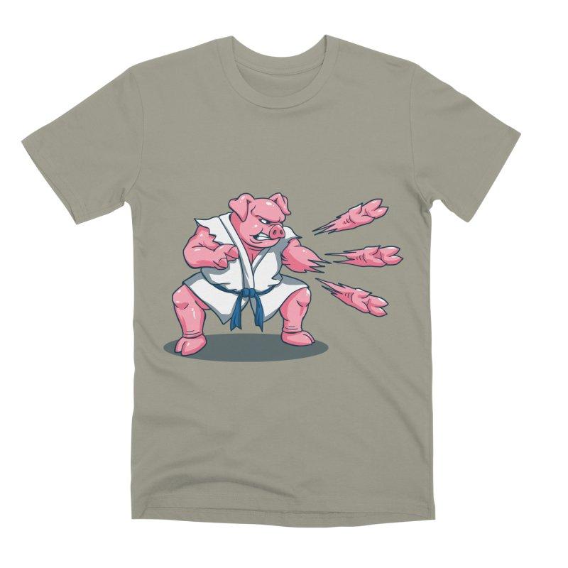 Pork Chops Men's Premium T-Shirt by vincenttrinidad's Artist Shop