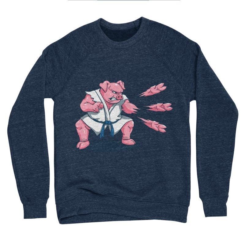 Pork Chops Men's Sponge Fleece Sweatshirt by vincenttrinidad's Artist Shop
