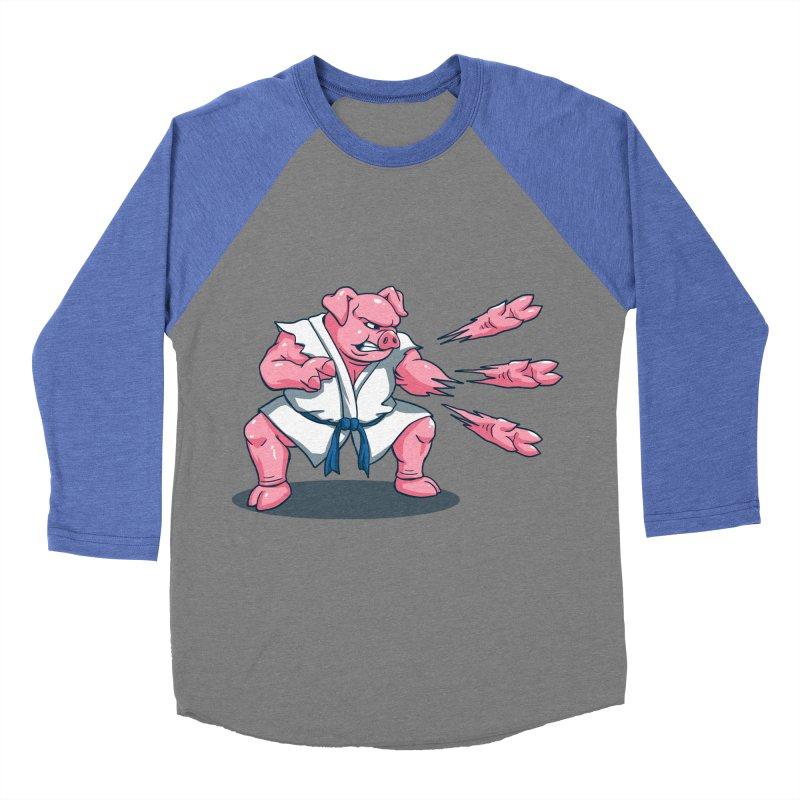 Pork Chops Women's Baseball Triblend Longsleeve T-Shirt by vincenttrinidad's Artist Shop