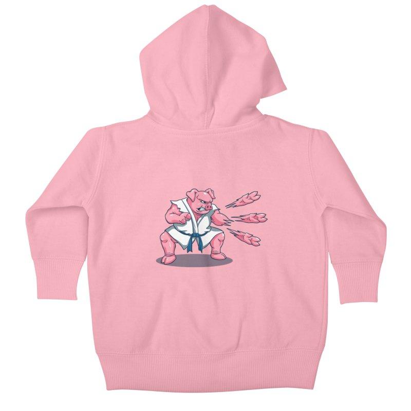 Pork Chops Kids Baby Zip-Up Hoody by vincenttrinidad's Artist Shop