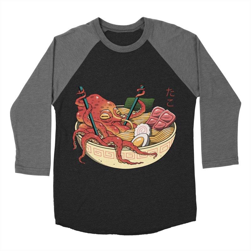 Tako Ramen Women's Baseball Triblend Longsleeve T-Shirt by vincenttrinidad's Artist Shop
