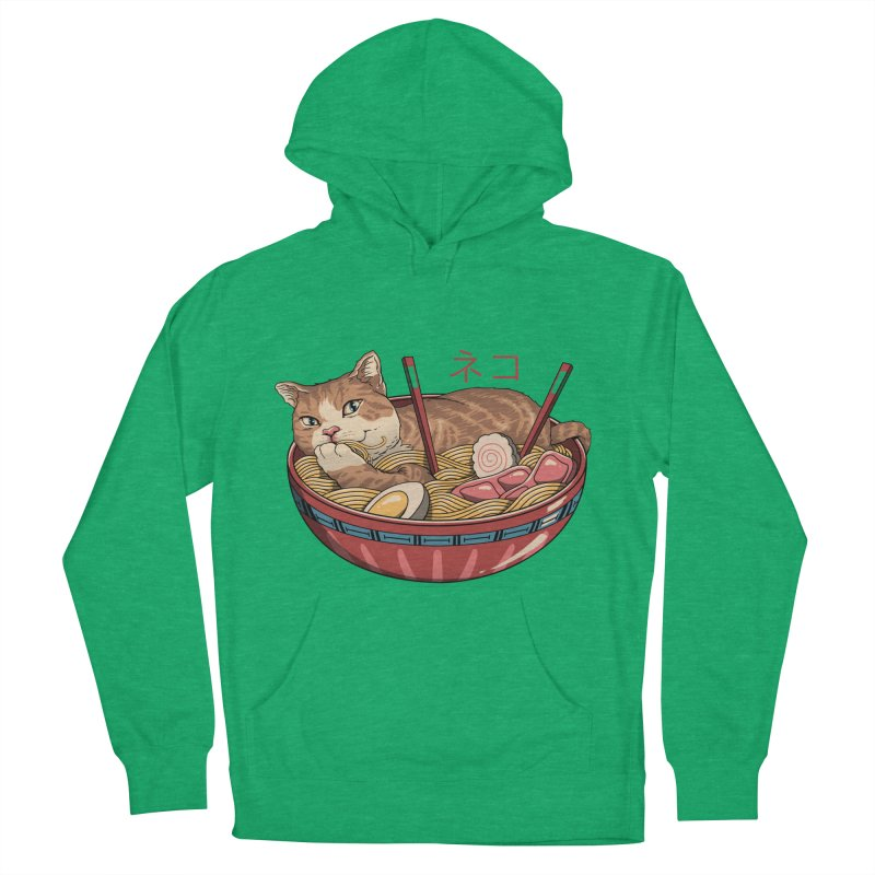 Neko Ramen v2 Women's French Terry Pullover Hoody by vincenttrinidad's Artist Shop