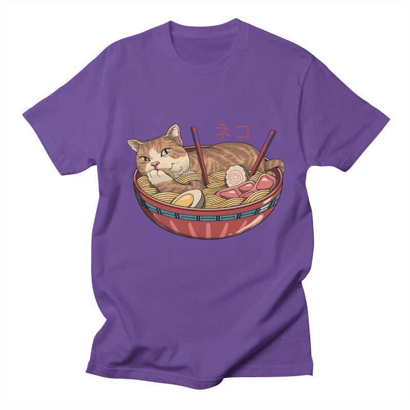 Neko Ramen v2 Women's Regular Unisex T-Shirt by vincenttrinidad's Artist Shop