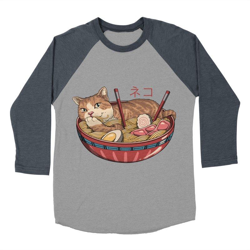 Neko Ramen v2 Women's Baseball Triblend Longsleeve T-Shirt by vincenttrinidad's Artist Shop