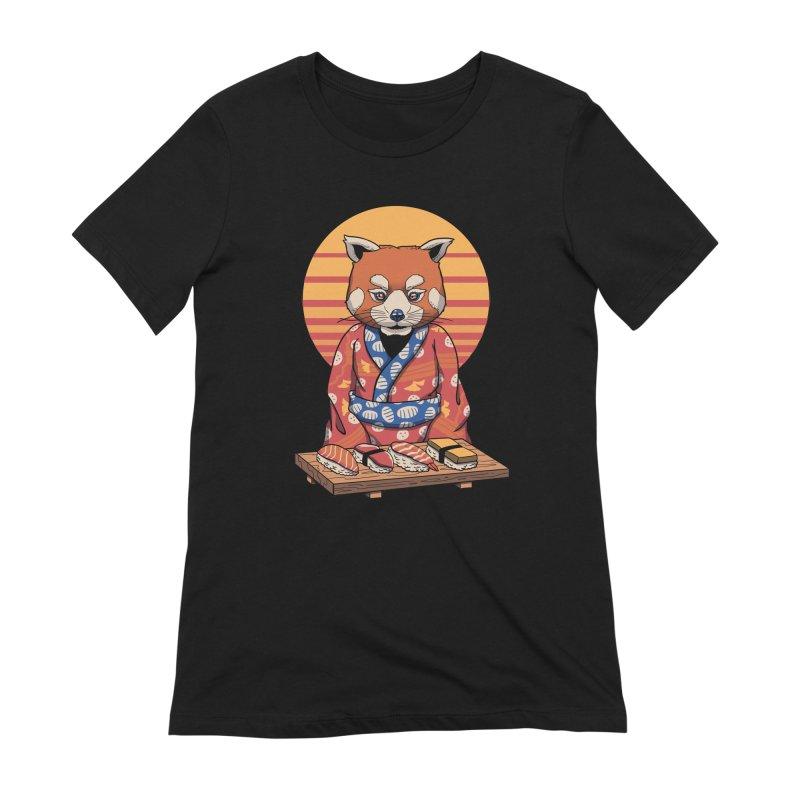 Rad Panda Women's Extra Soft T-Shirt by vincenttrinidad's Artist Shop