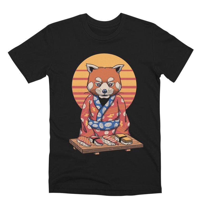 Rad Panda Men's Premium T-Shirt by vincenttrinidad's Artist Shop