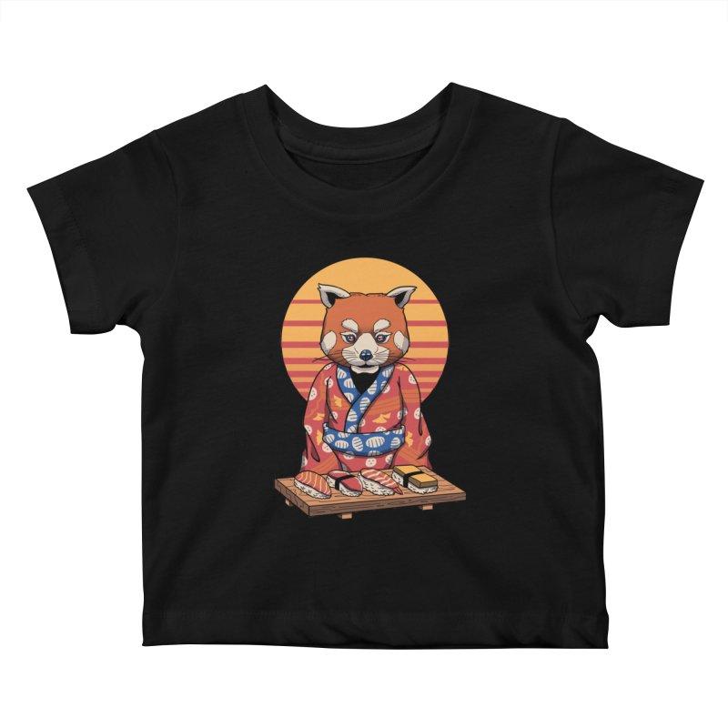 Rad Panda Kids Baby T-Shirt by vincenttrinidad's Artist Shop