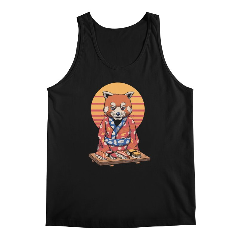 Rad Panda Men's Regular Tank by vincenttrinidad's Artist Shop