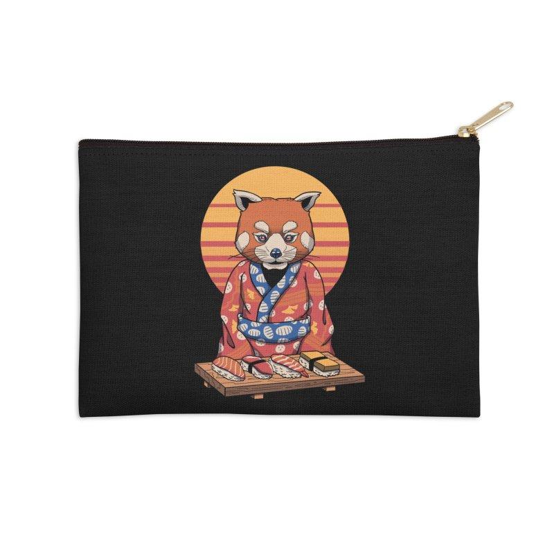 Rad Panda Accessories Zip Pouch by vincenttrinidad's Artist Shop