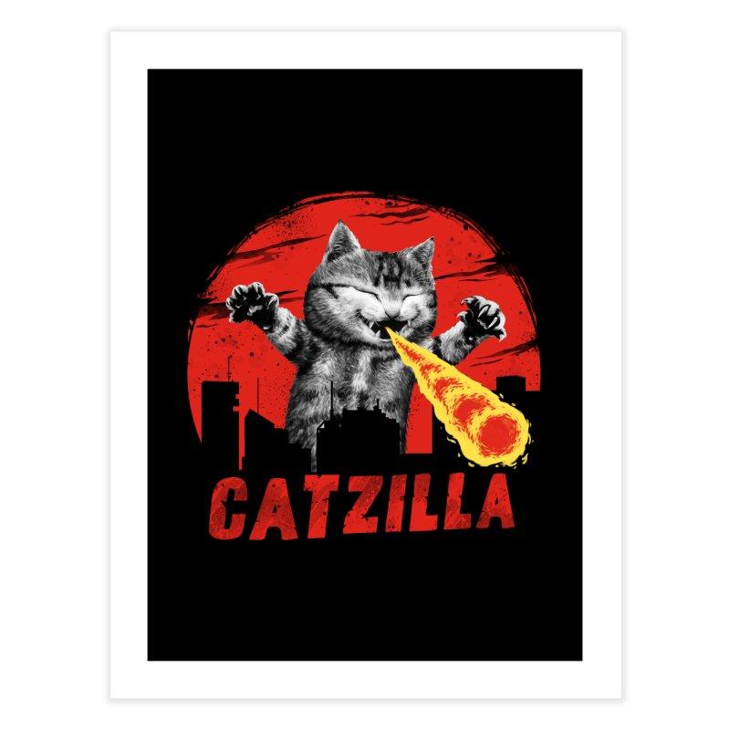 Catzilla   by vincenttrinidad's Artist Shop