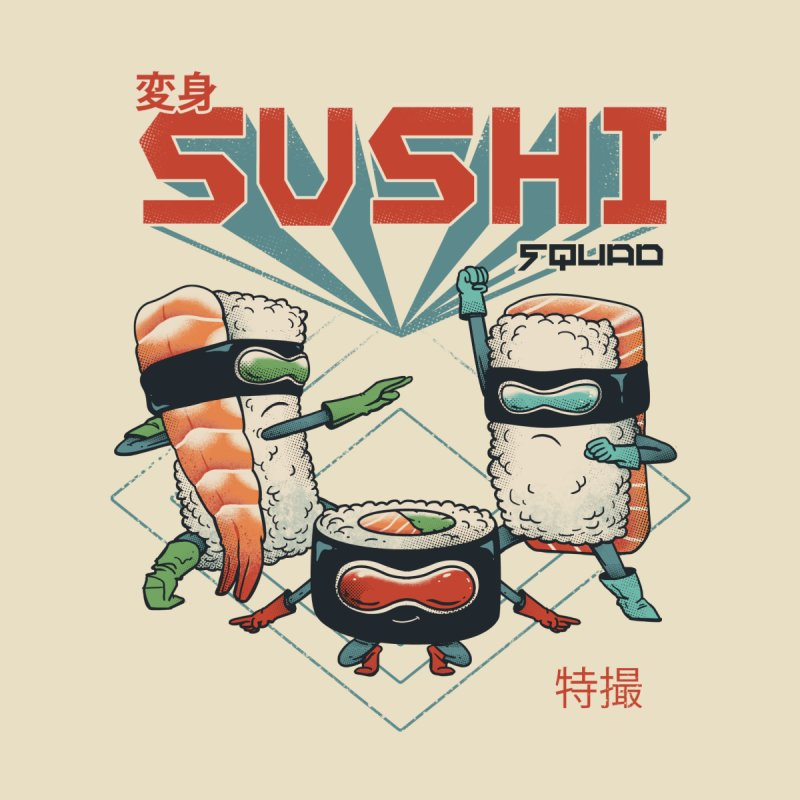 Sushi Squad Accessories Sticker by vincenttrinidad's Artist Shop