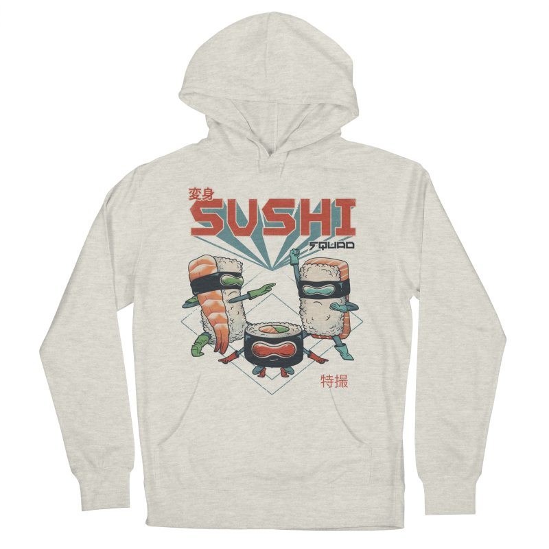Sushi Squad Men's Pullover Hoody by Vincent Trinidad Art