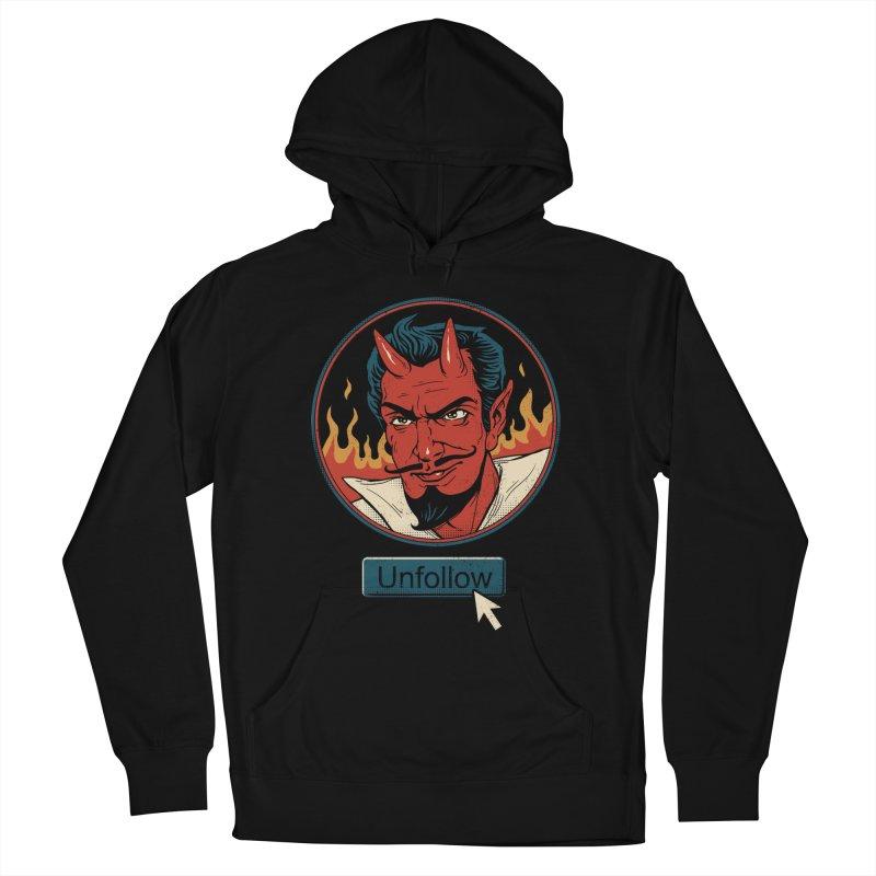 Unfollow the Devil Men's Pullover Hoody by vincenttrinidad's Artist Shop