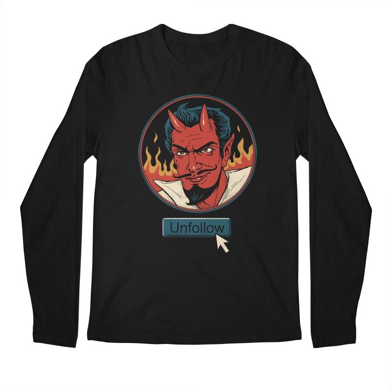 Unfollow the Devil Men's Longsleeve T-Shirt by vincenttrinidad's Artist Shop
