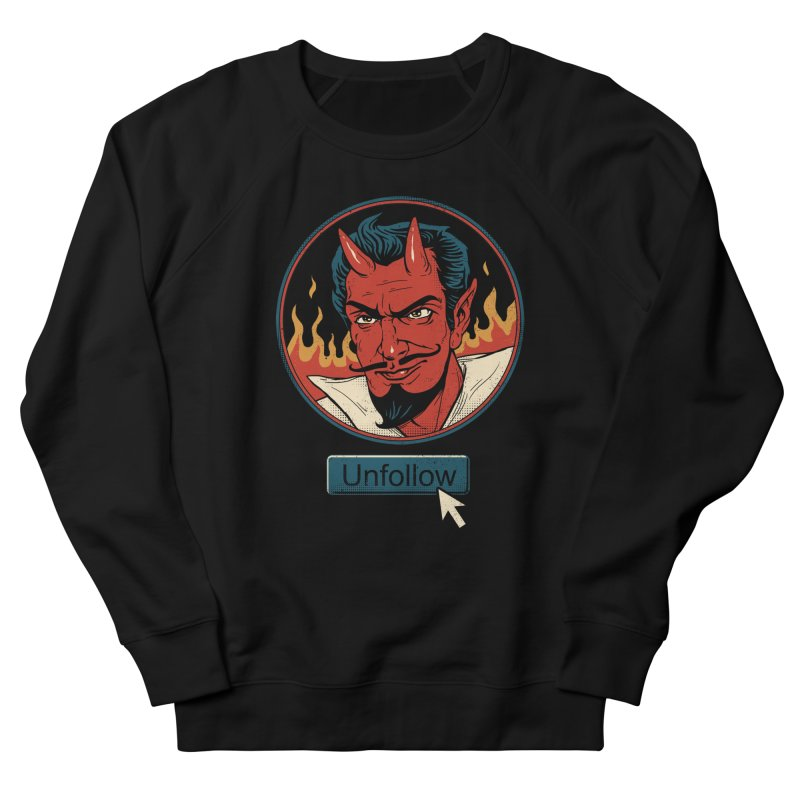 Unfollow the Devil Men's Sweatshirt by Vincent Trinidad
