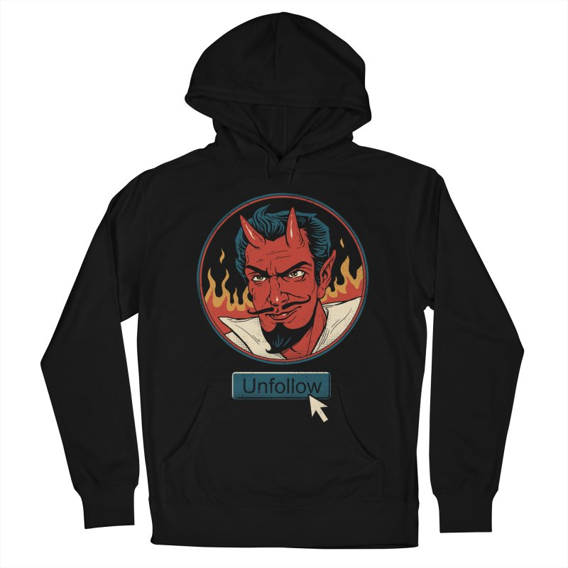 Unfollow the Devil Women's French Terry Pullover Hoody by Vincent Trinidad