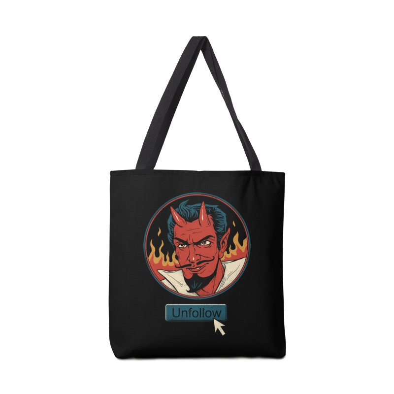Unfollow the Devil Accessories Bag by vincenttrinidad's Artist Shop