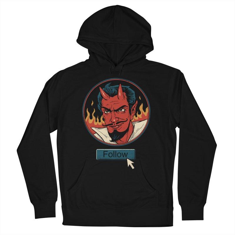 Follow the Devil Men's Pullover Hoody by Vincent Trinidad Art